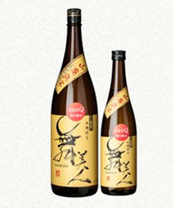 福井の地酒・舞美人 2018年醸造 山廃純米 無ろ過生原酒